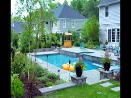 small inground pool ideas youtube
