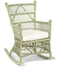 Bamboo Rocking Chair Beehive Wicker Rocking Chair