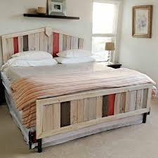 pallet bed itself building 30 ideas for low cost diy pallet