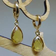 mcdonough citrine drop earrings for the mcdonough citrine pear drop earrings replikates