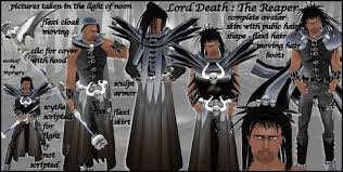 Halloween Death Costume Marketplace Lord Death Master Reaper Avatar Scythe