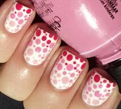 11 pretty polka dot gradient nail art designs