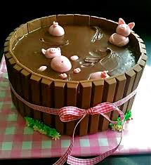 Minecraft Cake Decorating Kit The 25 Best Pigs In Mud Cake Ideas On Pinterest Baby Bath With