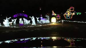 yukon ok christmas lights christmas in the park 2015 yukon oklahoma youtube