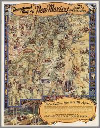 New Mexico Maps The Summer Of Archives 3 Amazing Hi Res Maps And Charts From
