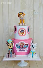 151 paw patrol cakes images paw patrol party