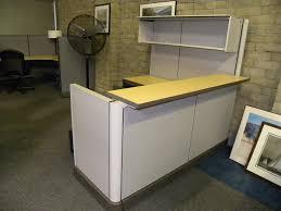 Herman Miller Reception Desk Reception Panel System Workstation By Herman Miller With Filing