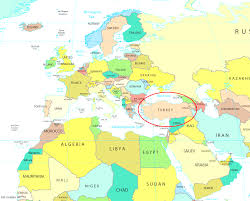 map of euroup turkey on the map of europe world maps
