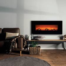 reviews for longton wall mounted electric fireplace black 127cm