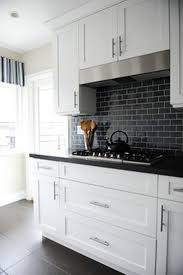 best black backsplash ideas on teal kitchen tile black backsplash
