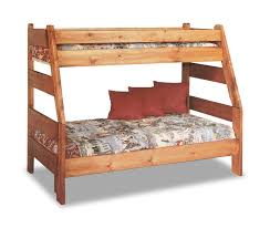 Twin And Full Bunk Beds by High Sierra Twin Over Full Bunk Bed Cinnamon Finish Hom