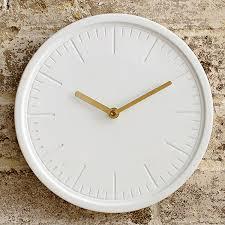 decorative wall clock by beautiful things online u2013 white ceramic