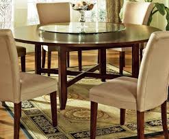 small lazy susan for kitchen table four legs round dining table with glazed lazy susan furniture