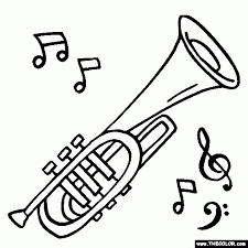 musical instruments coloring pages page 1 in music instrument