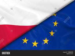flags poland european union divided image u0026 photo bigstock