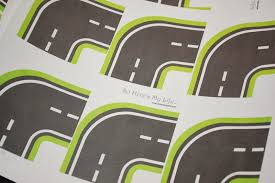 printable road maps best photos of printable roads for toy cars toy car road map