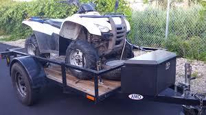 f s 2 honda rancher 420 4x4 utility trailer and ramps 9 5k obo