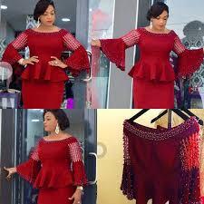 ladies african dresses 2018 autumn winter long sleeve christmas