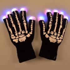 Kids Light Halloween Costume Discount Skeleton Gloves Kids 2017 Skeleton Gloves Kids Sale