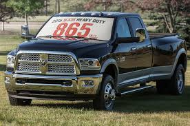 Dodge 3500 Truck Tires - 2015 ram 2500 3500 hd revised for higher payload rating