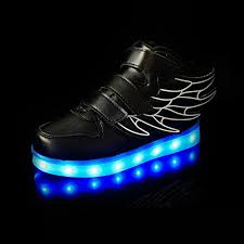 led light up shoes for boys cior wings led light up shoes 11 colors flashing rechargeable