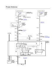 gm power antenna wiring diagram wiring diagram byblank