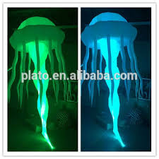 Hanging Party Decorations Hanging Party Decorations Lighted Inflatable Jellyfish Led