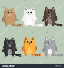 different breeds cats stock vector 340533587 shutterstock