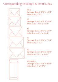 wedding invitations size standard envelope sizes for invitations wedding invitation size