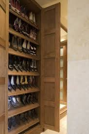 Shoe Closet With Doors Shoe Storage Tower Tower Storage And Organizations