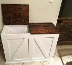 kitchen bin ideas best 25 wooden trash can ideas on pallet indoor ideas