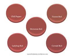 paint colors similar to moroccan red more benjamin