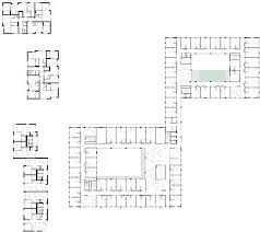 Retirement Home Plans by Areal Architecten U0027s Mayerhof Retirement Home Wraps Two Courtyards