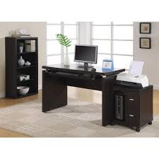 Laptop And Printer Desk by Acme Furniture Boice Desk In Espresso Pu And Champagne 92336 The