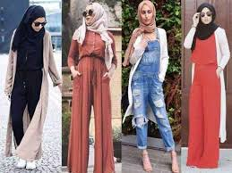how to wear a jumpsuit how to wear jumpsuits with just trendy hijabi