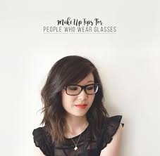 make up tips for glasses wearers with before u0026 after pics