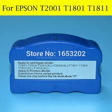chip resetter epson xp 305 1 pc original chip resetter for epson t1801 t1811 for epson xp 415