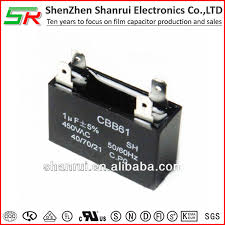 ceiling fan capacitor and air conditioner electronic components