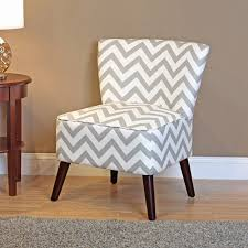 Gray And White Accent Chair Dorel Living Chevron Accent Chair Gray And White