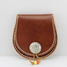 pdf pattern template leather coin wallet by leatherpatterncraft