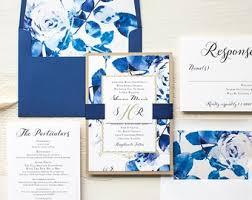 wedding invitations royal blue the most popular collection of royal blue wedding invitations for