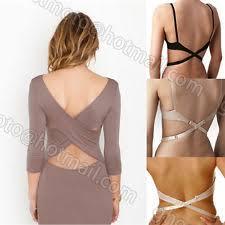 low back shoulder strap cross belt converter bra extension