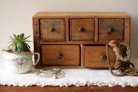 Vintage Desk Organizers Desktop Organizer With Drawers