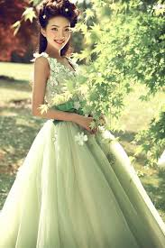 light green wedding dress welcome to bridal trend