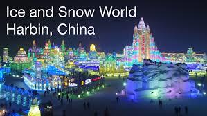 harbin snow and ice festival 2017 ice and snow festival harbin china youtube