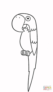 parrots coloring pages parrot coloring page free printable coloring pages