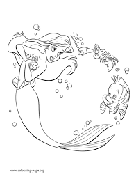 coloring pages of the little mermaid the little mermaid ariel and her friends making music coloring page