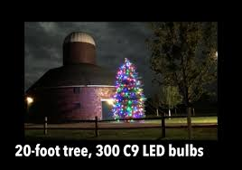how do i light my 20 foot tree
