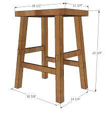 Diy Furniture Plans Free by Diy Counter Stool Counter Height Stool Free And Easy Diy