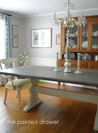 Farm Table Dining Room A Vintage Farmhouse Table Before And After Suzanne Bagheri